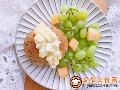 鸡蛋沙拉三明治附自制健康沙拉酱的做法图解10
