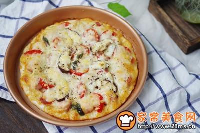 黑胡椒烟熏热狗肠披萨的做法图解13
