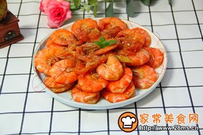 番茄炒虾的做法图解8