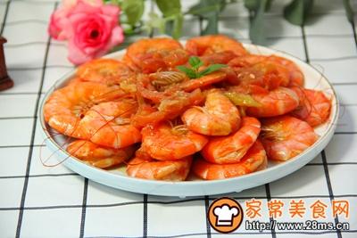 番茄炒虾的做法图解9