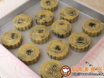 黑芝麻广式月饼的做法图解9