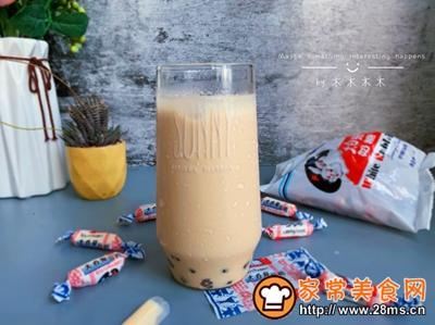 网红大白兔奶茶的做法图解7