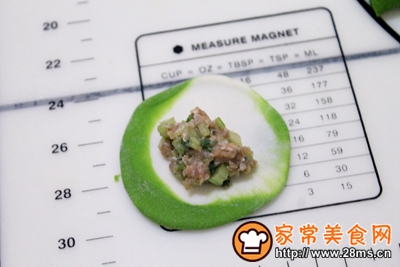 芹菜牛肉翡翠饺的做法图解12
