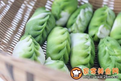 芹菜牛肉翡翠饺的做法图解14