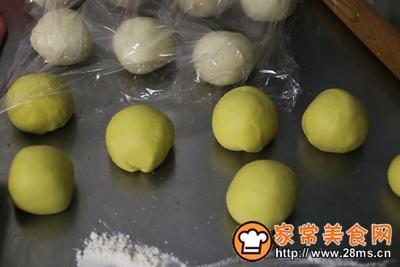老面南瓜花卷的做法图解5