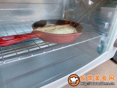 饺子皮版披萨宝宝最爱早餐的做法图解6