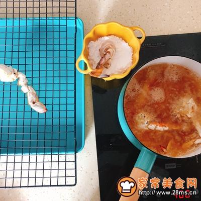 香辣虾蟹干锅的做法图解2