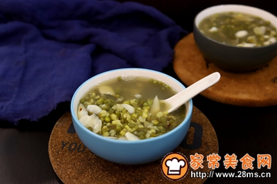绿豆百合汤的做法图解7