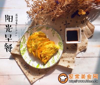 快手早餐西葫芦鸡蛋饼的做法图解8