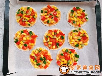 中西合璧~饺子皮版快手披萨的做法图解5