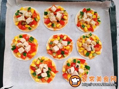 中西合璧~饺子皮版快手披萨的做法图解6