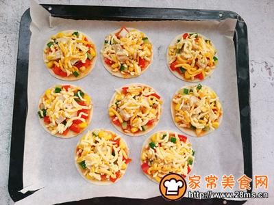 中西合璧~饺子皮版快手披萨的做法图解7