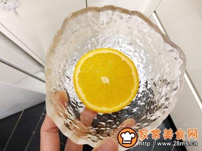 橙子蛋糕的做法图解2