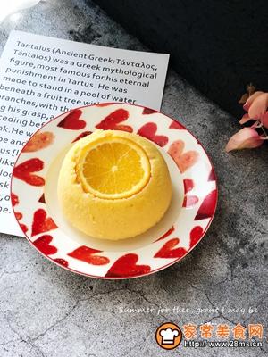 橙子蛋糕的做法图解7