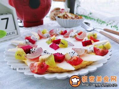 缤纷水果酸奶蛋饼的做法图解10