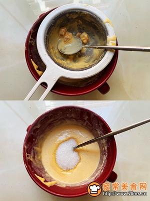 金沙咸蛋黄冰皮月饼的做法图解2