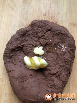 巧克力面包节约型的做法图解3