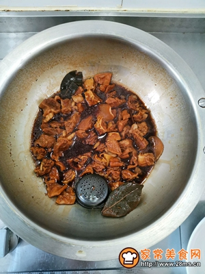 红烧牛肉面的做法图解5