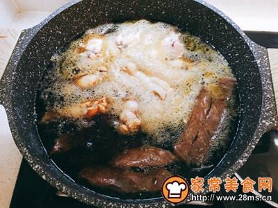 可乐鸡翅炖牛扒豆腐的做法图解6