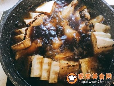 可乐鸡翅炖牛扒豆腐的做法图解7