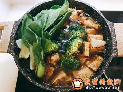 可乐鸡翅炖牛扒豆腐的做法图解8
