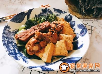 可乐鸡翅炖牛扒豆腐的做法图解9
