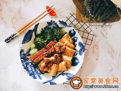 可乐鸡翅炖牛扒豆腐的做法图解10