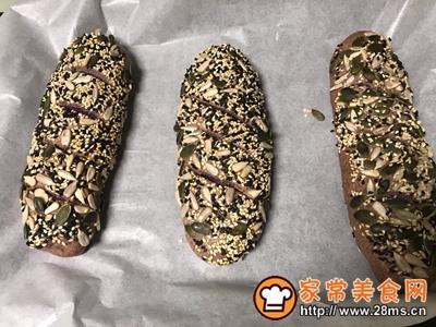 紫薯高纤包的做法口图解14