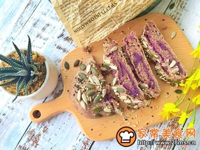 紫薯高纤包的做法图解18