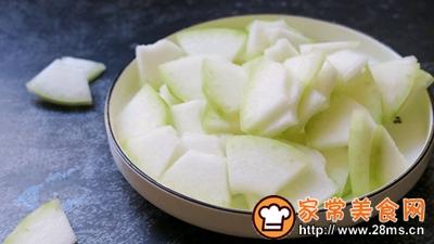 素炒冬瓜片的家常做法