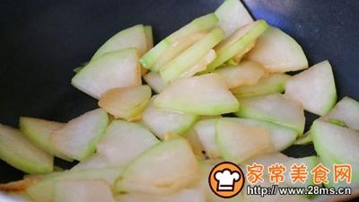 素炒冬瓜片的做法图解7