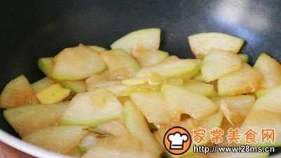 素炒冬瓜片的做法图解9