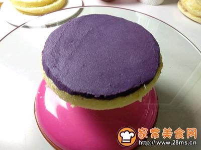 6寸处女座紫水晶鲜花蛋糕的做法图解19