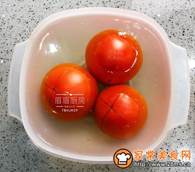 番茄虾球的做法图解2