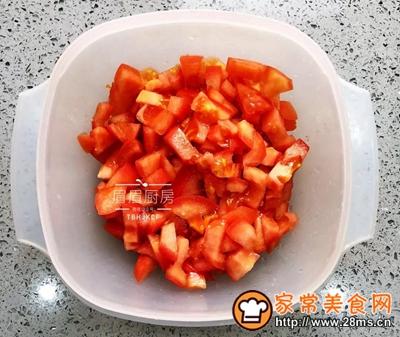 番茄虾球的做法图解3
