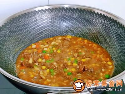 咖喱牛肉时蔬盖浇饭的做法图解11