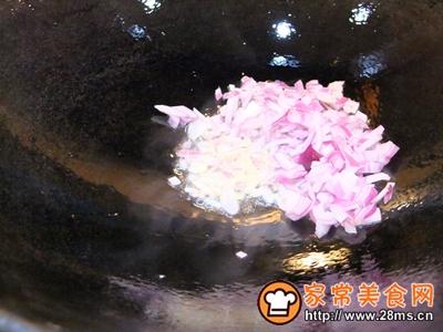 韩式泡菜炒饭的做法图解3