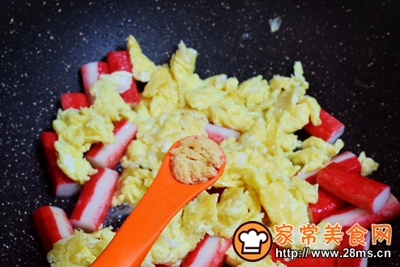 蟹柳鸡蛋便当的做法图解10