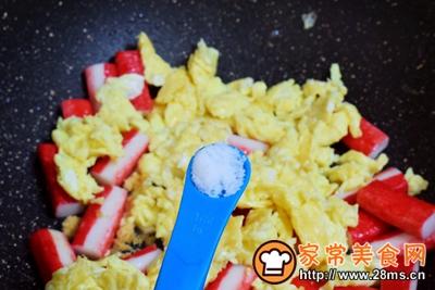 蟹柳鸡蛋便当的做法图解11