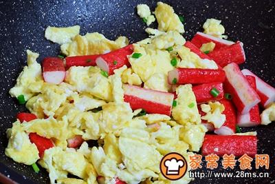 蟹柳鸡蛋便当的做法图解13