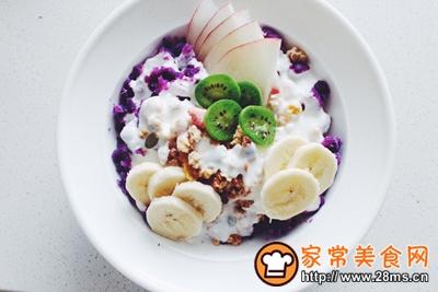 紫薯麦片酸奶碗的做法图解4
