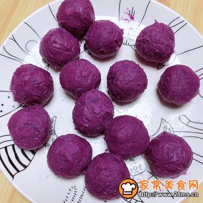 椰浆紫薯奶皮月饼的做法图解9