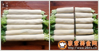 开胃凉菜绿蔬千张卷的做法图解9