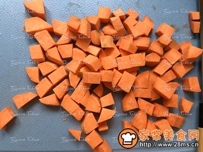 健身食谱低糖三色粗米饭的做法图解1