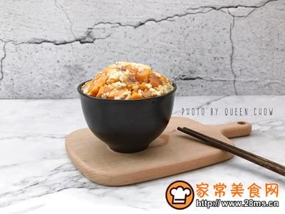 健身食谱低糖三色粗米饭的做法图解9