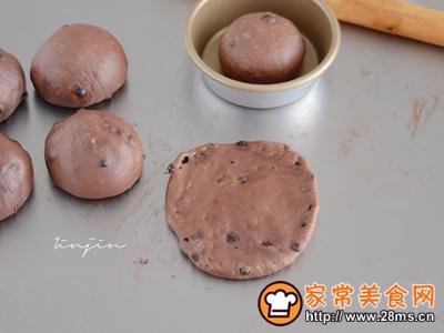 一口浓郁满足巧克力豆豆面包(波兰种)的做法图解9