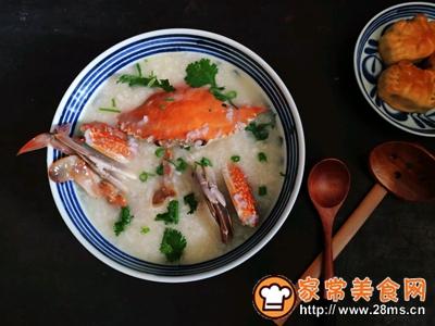 蟹粥的做法图解16