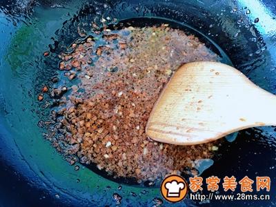 秋葵粉丝鲜虾酿的做法图解6