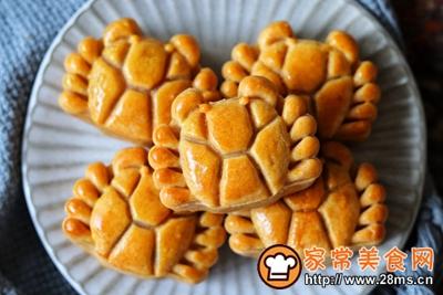 螃蟹月饼的做法图解14