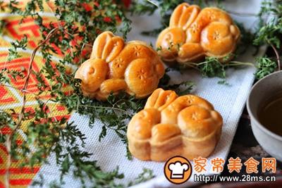 螃蟹月饼的做法图解15